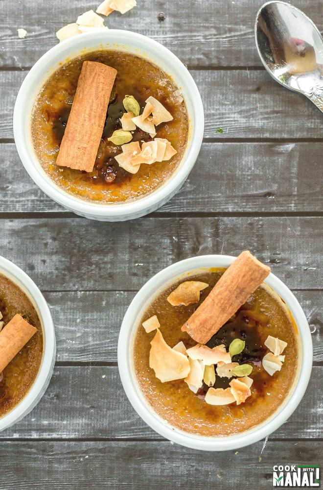 Chai Creme Brulee Recipe