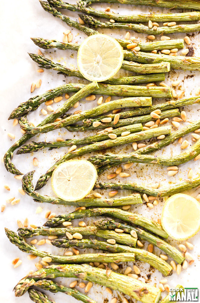 Curry Roasted Asparagus