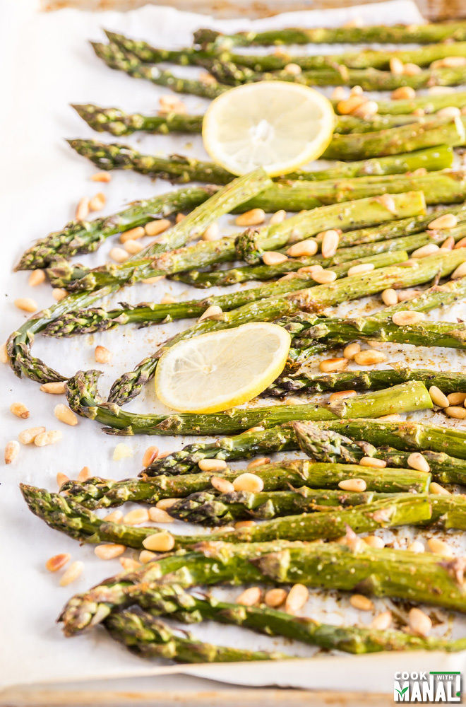 Curry Spiced Asparagus