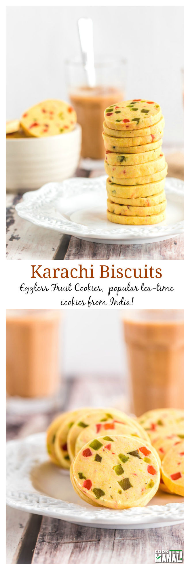 Karachi Biscuits Collage