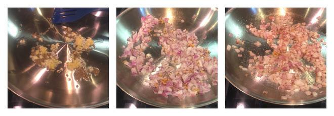 Chana Saag Recipe-Step-2