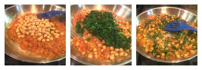 Chana Saag Recipe-Step-4