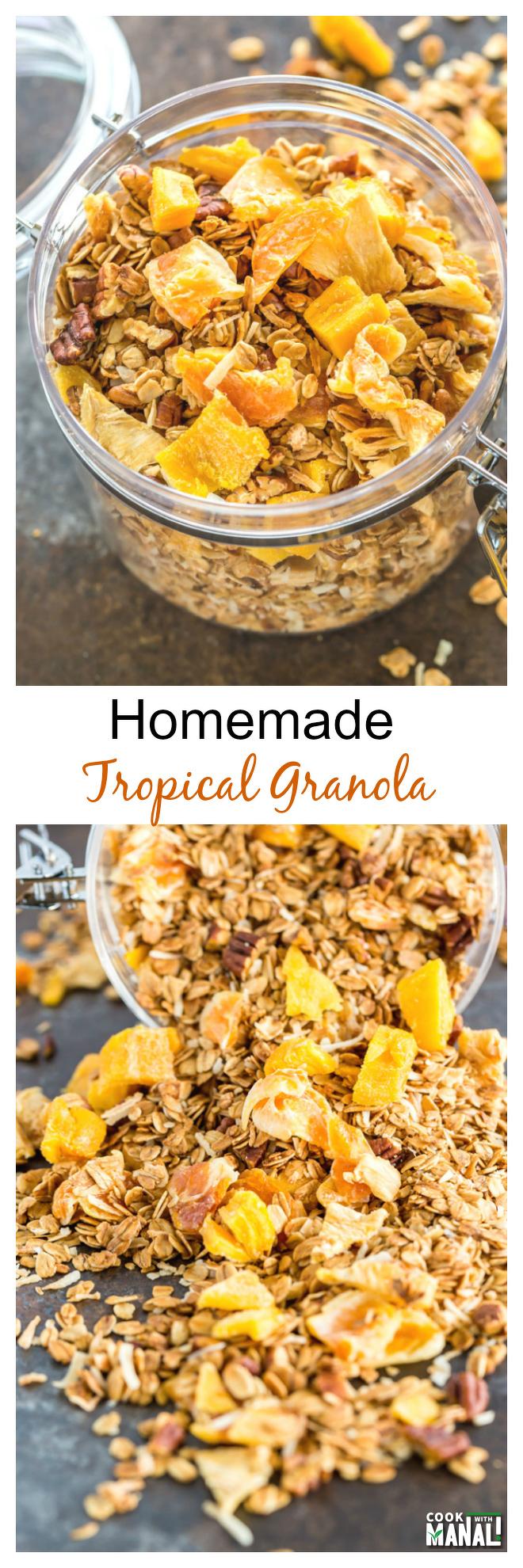 Homemade-Tropical-Granola-Collage