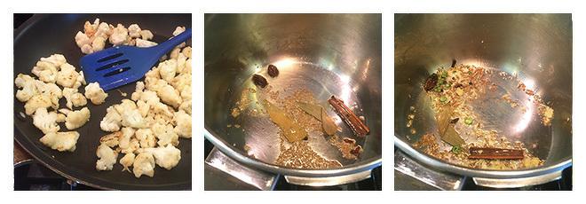 Cauliflower-Peas-Pulao-Recipe-Step-1