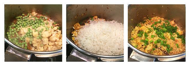 Cauliflower-Peas-Pulao-Recipe-Step-3