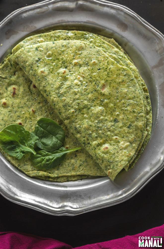 Homemade Spinach Tortilla