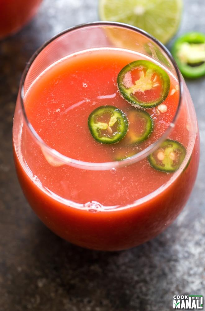 Watermelon Jalapeño Limeade - Cook With Manali
