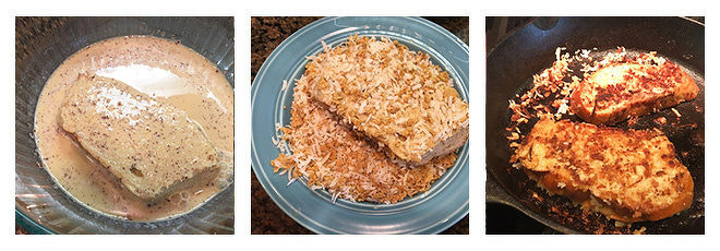 Coconut Almond Crunch French Toast-Recipe-Step-2