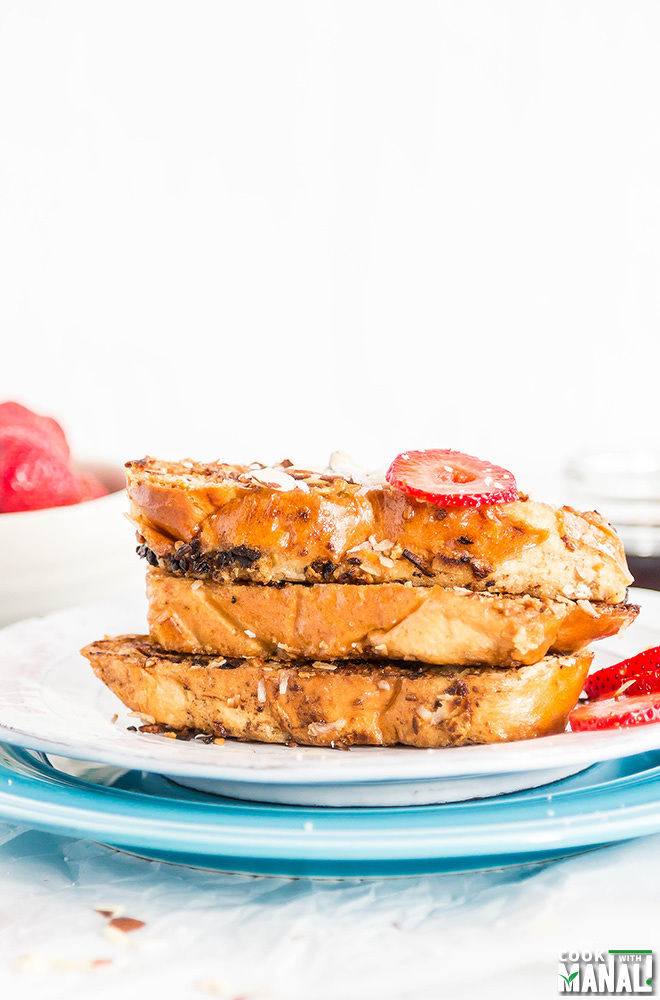 Coconut Almond Crunch French Toast Recipe