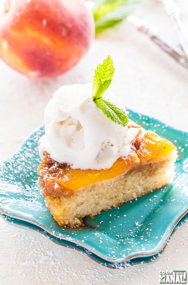 Peach Upside Down Cake-2