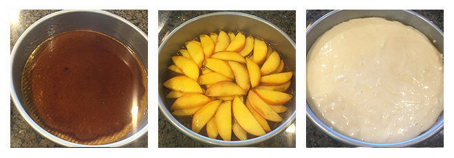 Peach-Upside-Down-Cake-Recipe-Step-3