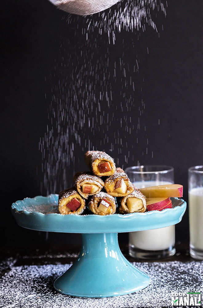 Apple Peanut Butter French Toast Roll Ups-1