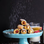 Apple Peaut Butter French Toast Roll Ups