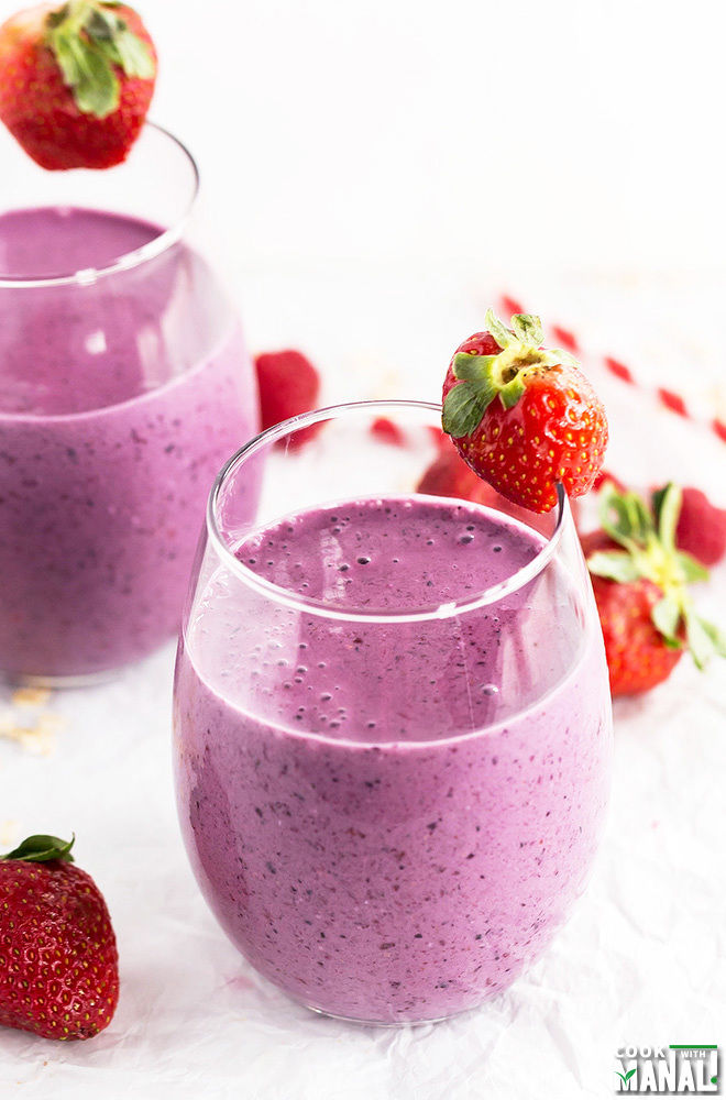 Berry Oat Smoothie Recipe