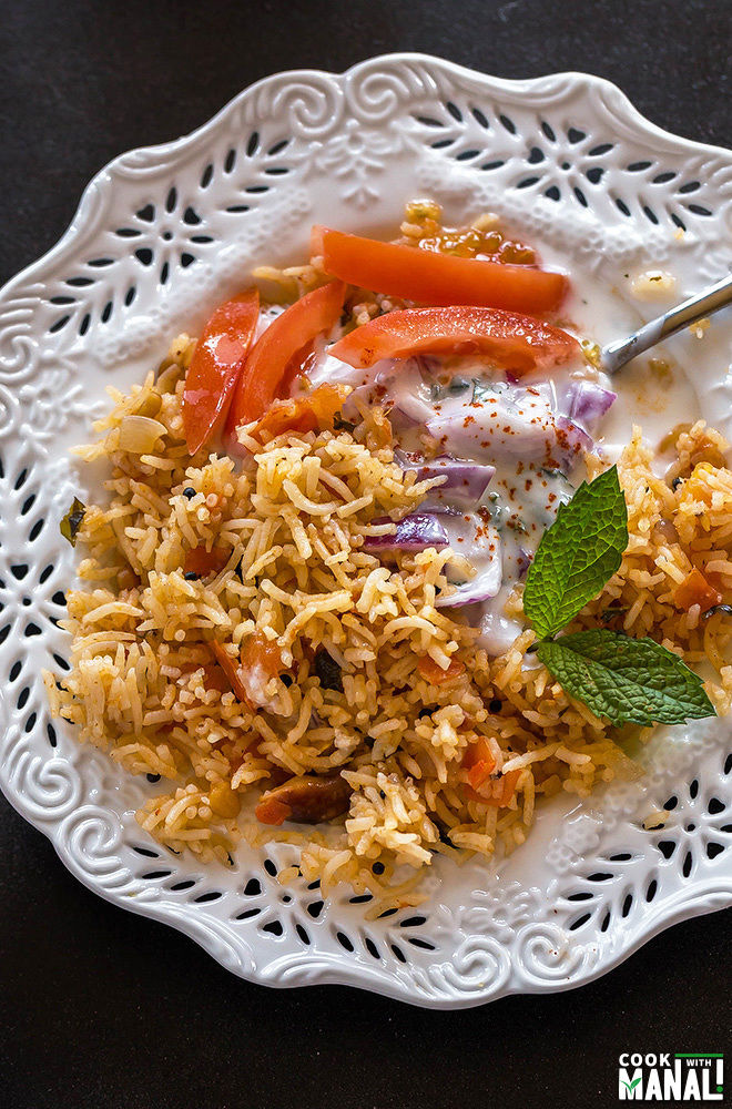 Indian Tomato Rice-1