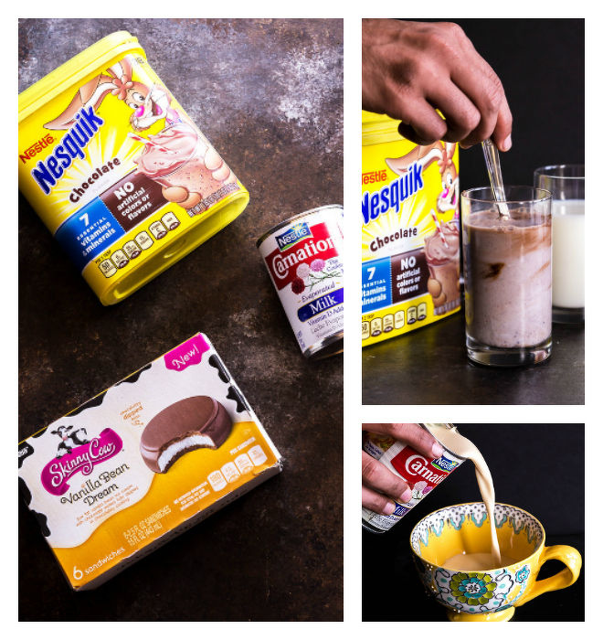 Nestle Products Collage