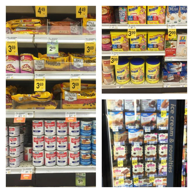 Nestle Products at Safeway