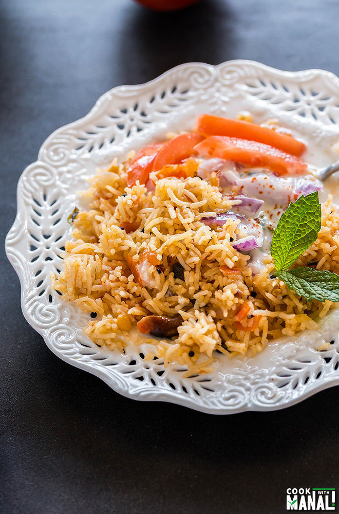 South Indian Tomato Rice