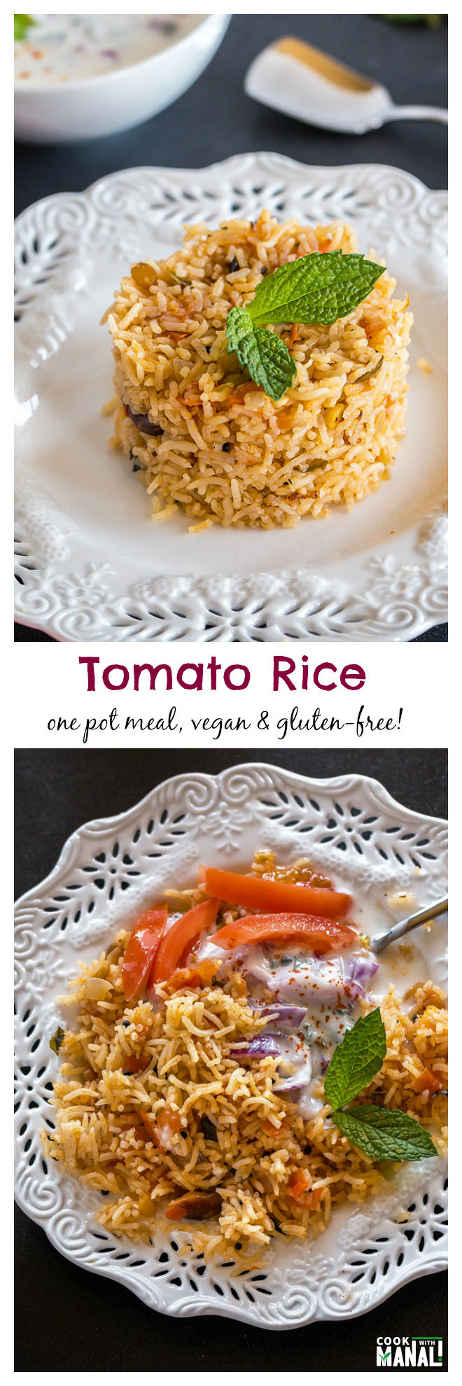 Tomato Rice-Collage