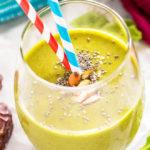 vegan spinach smoothie