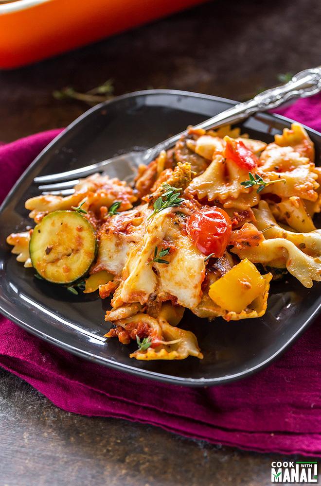Vegetarian Baked Pasta Recipe