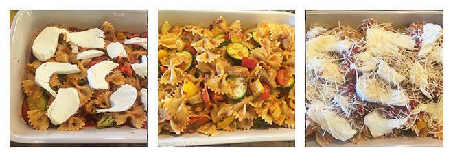 Veggie Lovers Baked Pasta-Recipe-Step-4