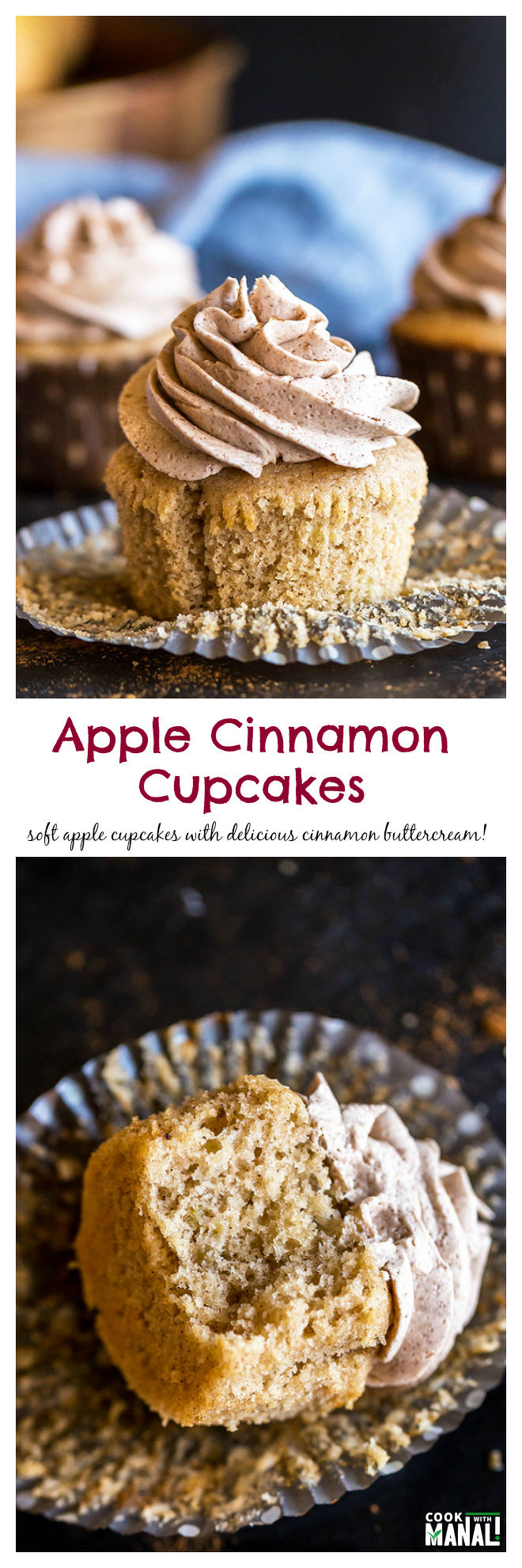 apple-cinnamon-cupcakes-collage