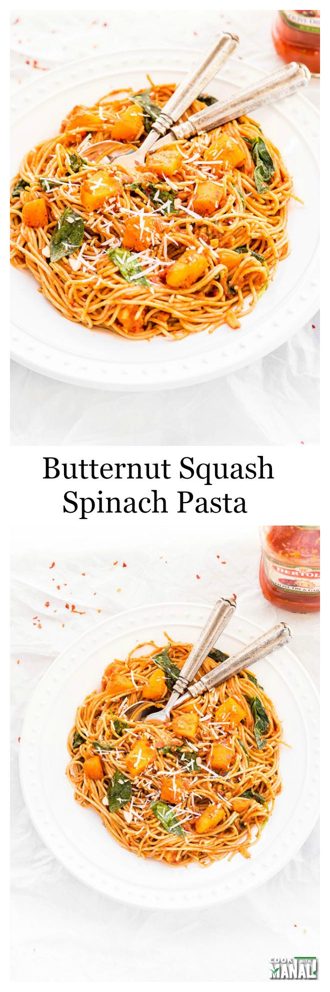 butternut-squash-spinach-pasta-collage