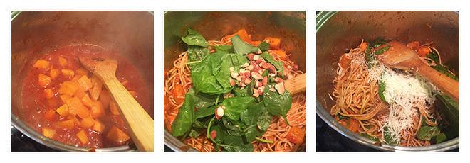 butternut-squash-spinach-pasta-recipe-step-2