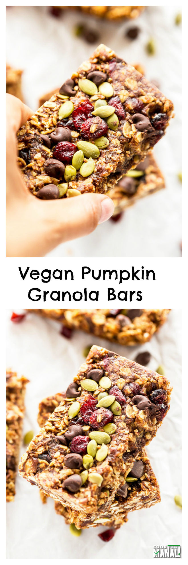 pumpkin-granola-bars-collage