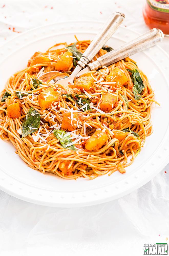 squash-spinach-pasta