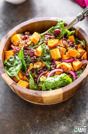 Sweet Potato Quinoa Salad