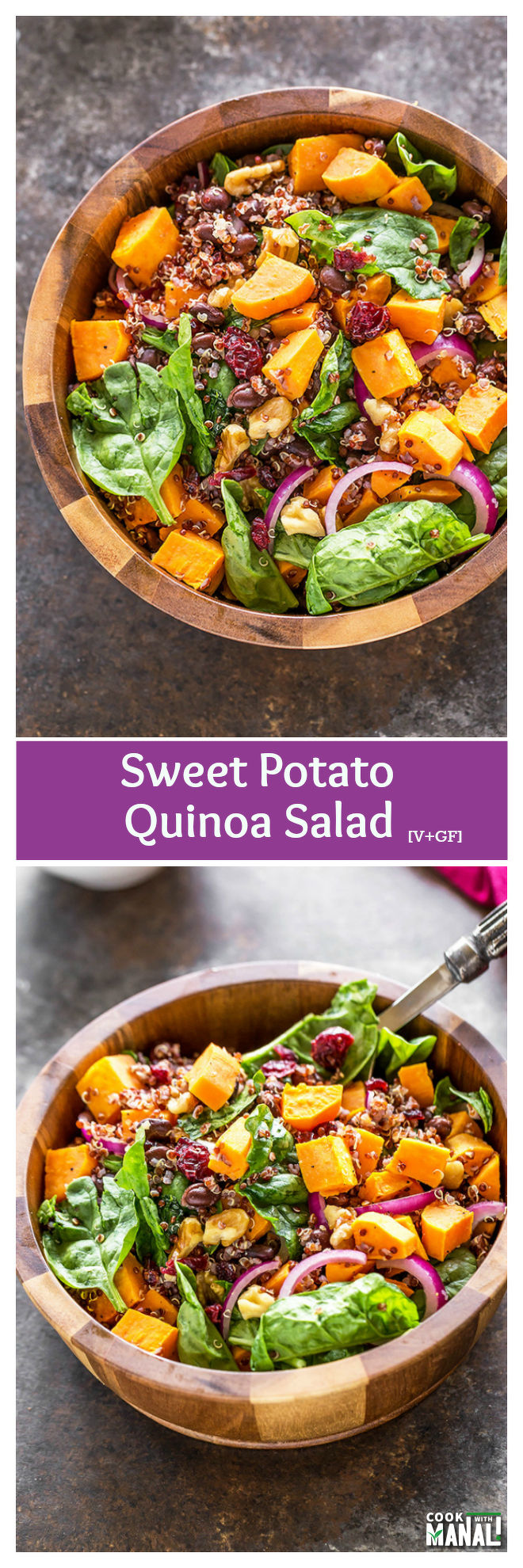 Sweet Potato Quinoa Salad - Cook With Manali