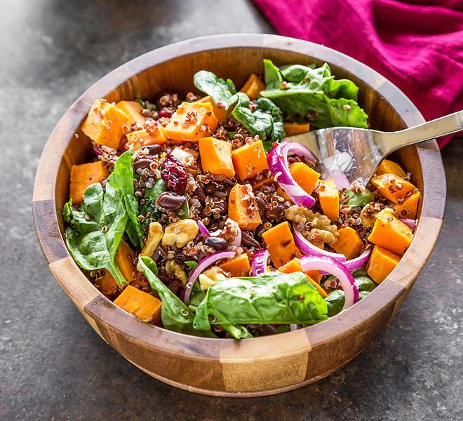 Sweet Potato Quinoa Salad