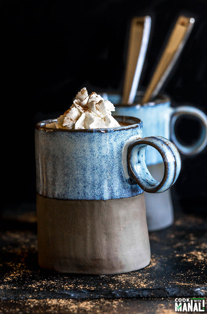 Nutella Pumpkin Spice Latte