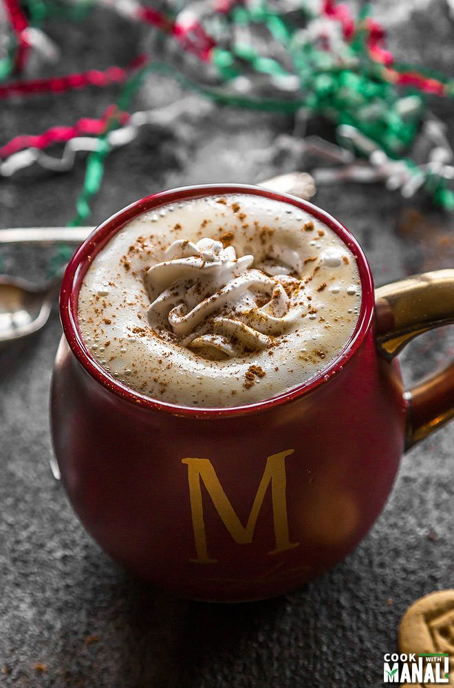 gingerbread maple latte