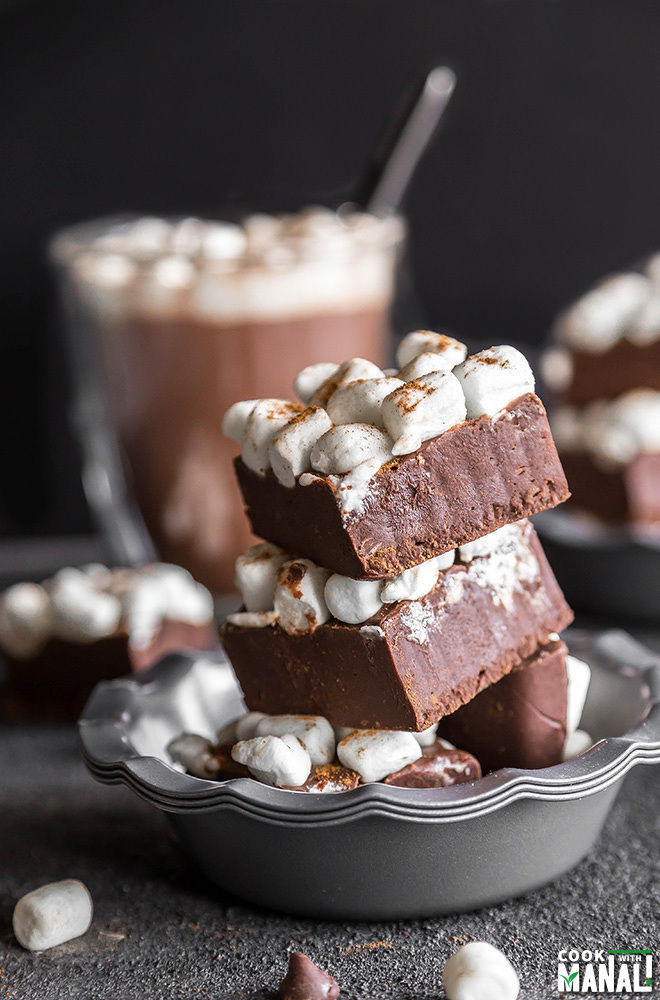 Mexican Hot Chocolate Fudge