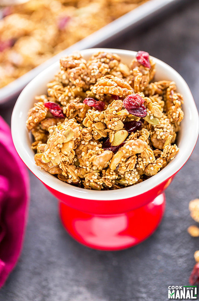 Quinoa Honey Nut Granola