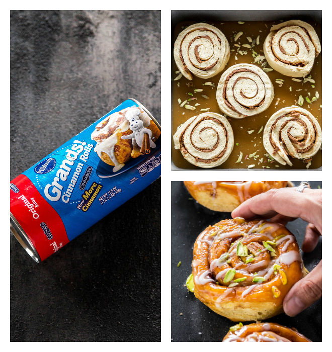 salted-caramel-sticky-buns-with-pillsbury-cinnamon-rolls