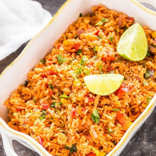 Vegetarian Mexican Rice Cook With Manali