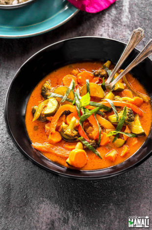 Vegetarian Thai Red Curry
