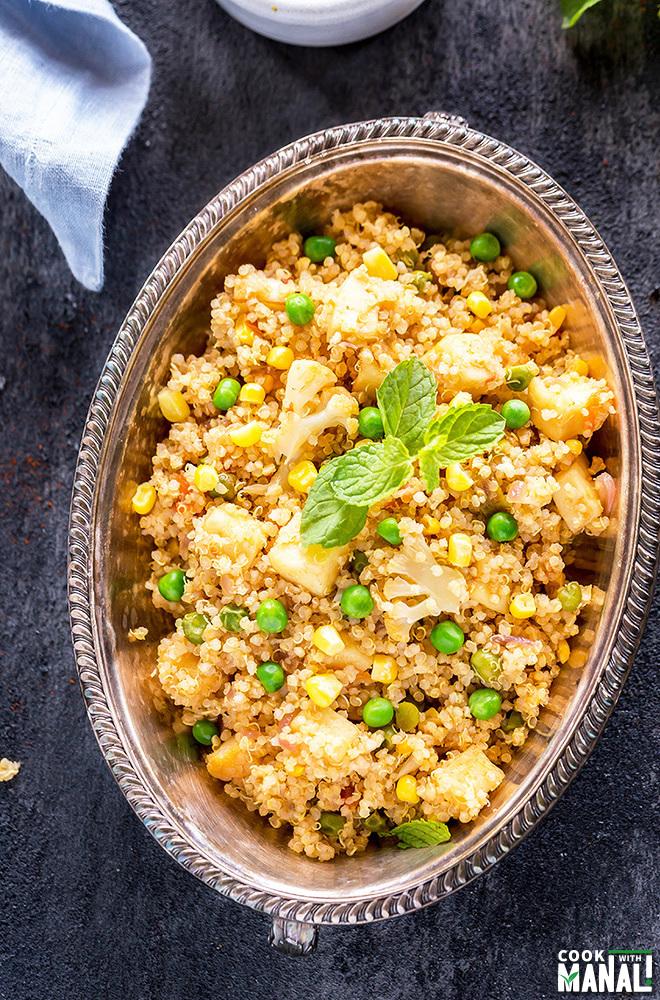 veggie-quinoa-pulao