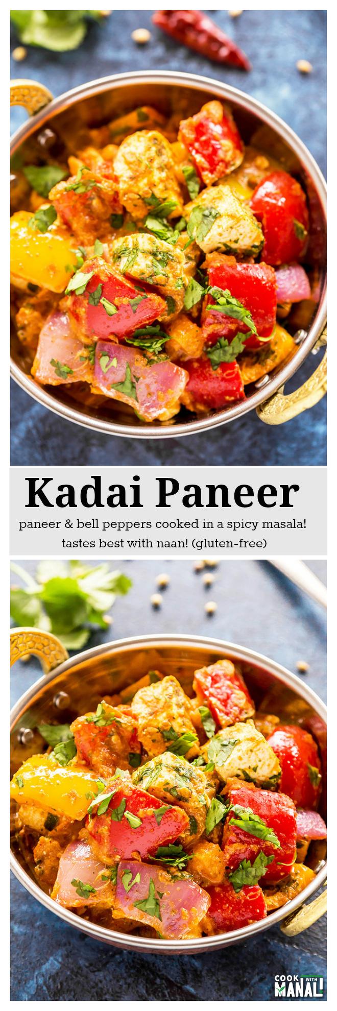 Kadai paneer cook with manali kadai paneer save forumfinder Gallery