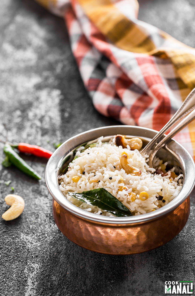 south indian coconut rice