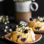 lemon blueberry tea cakes