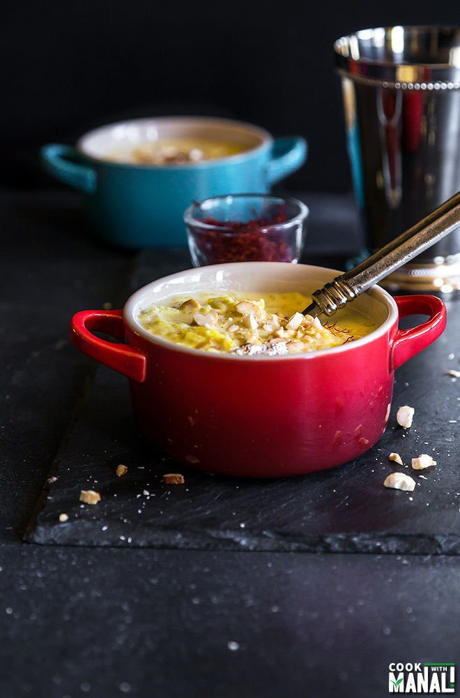 Rice kheer cook with manali rice kheer is a pudding made with rice milk and sugar its flavored with ccuart Gallery