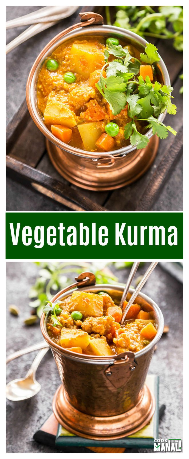 VEGETABLE KURMA COOK WITH MANALI