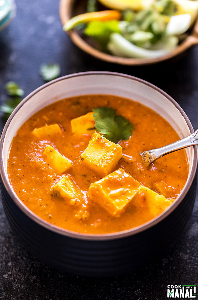 butter paneer made in the instant pot