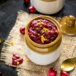 cranberry orange chutney made in the instant pot