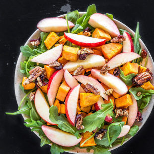 Sweet Potato Apple Pecan Salad